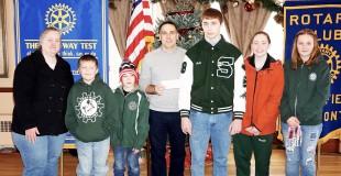 Rotary Wrestling Donation